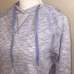 Calvin Klein Tops - Women's Calvin Klein blue hoodie size small